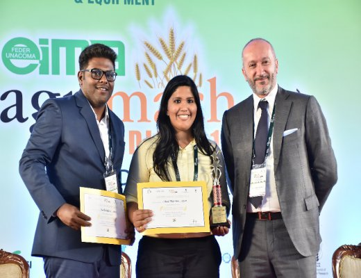 IRMA participants win first prize at the EIMA Agrimach India 2019